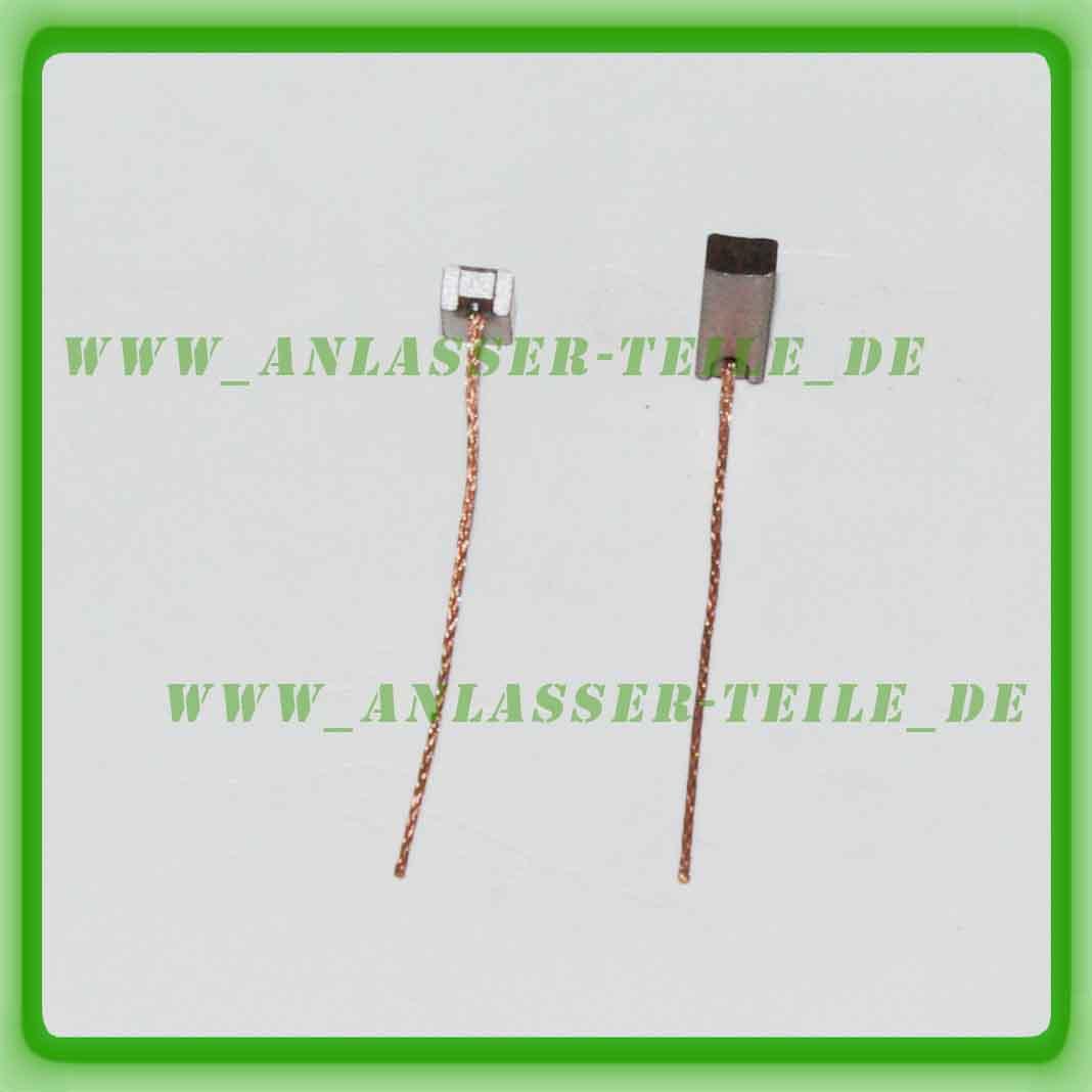 Kohlebürsten Lichtmaschine BOSCH 4x6x17,5 mm BX213 LIMA